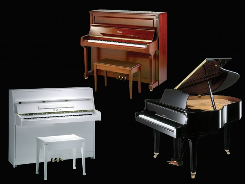 Pianos all brands